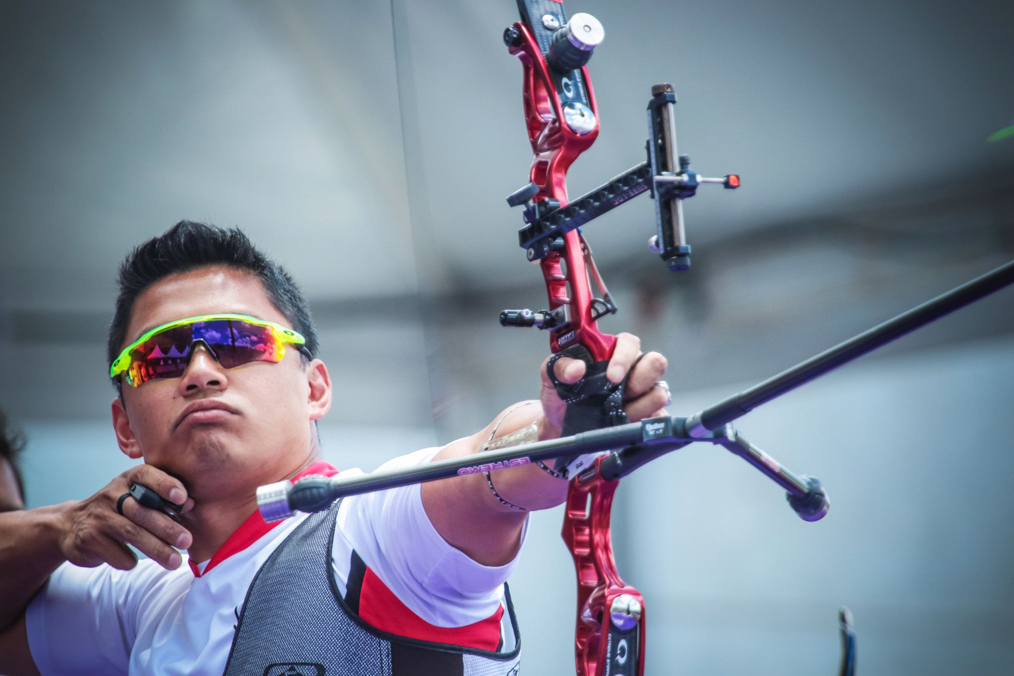 Canada's Crispin Duenas earned top seeding in the men's recurve event ©Getty Images