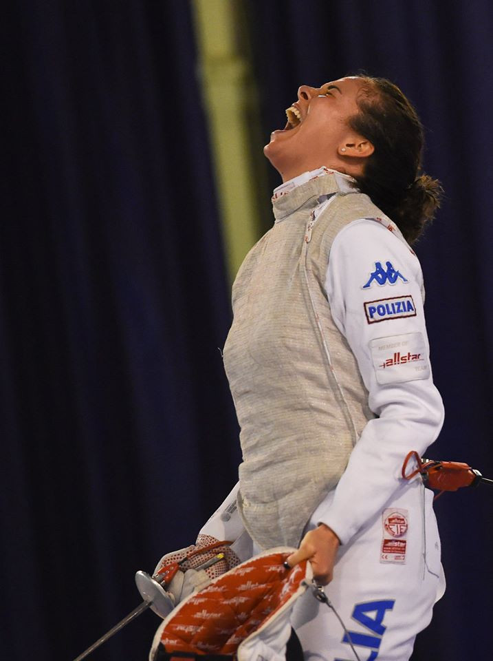Former world champion Volpi triumphs at FIE Women's Foil World Cup