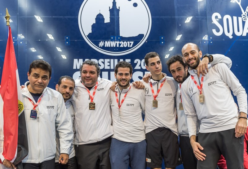 Egypt to begin Men's World Team Squash Championship title defence