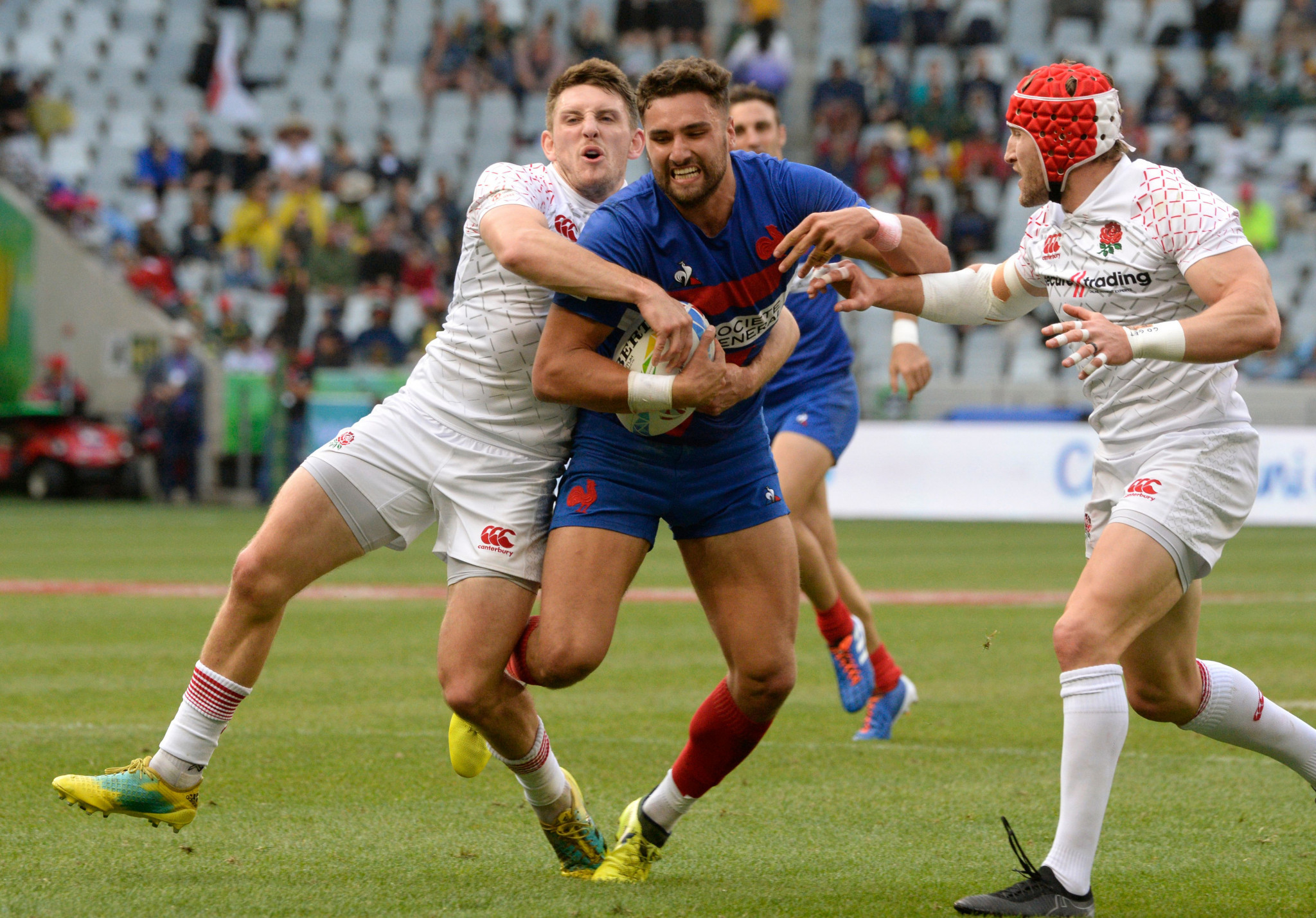 France ensured England would not make the quarter-finals in Cape Town ©Getty Images