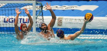 Greece and Spain strengthen grip on group standings at FINA Men's World Junior Water Polo Championships