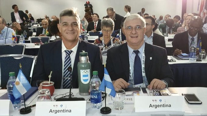 National Olympic Committees were represented, along with some Governments ©Twitter