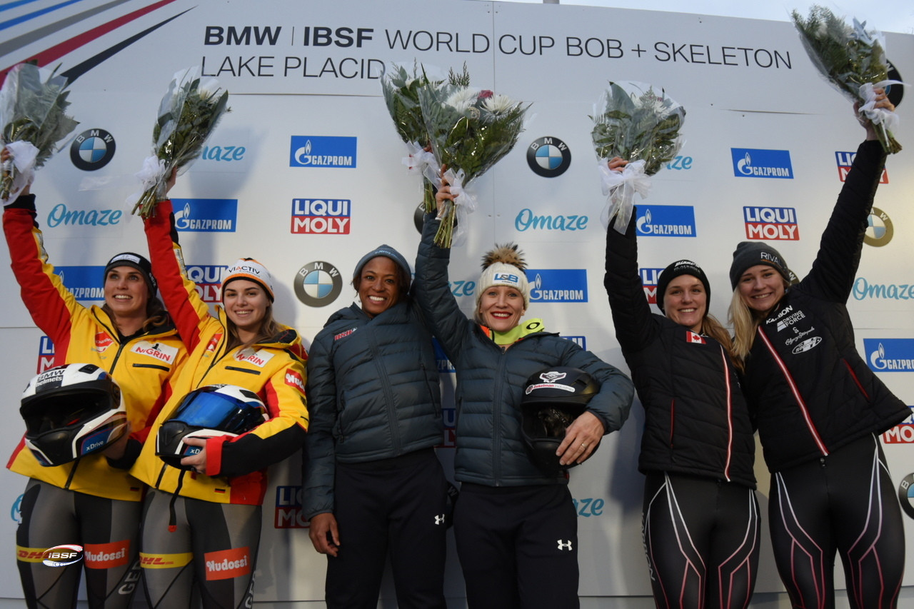 Humphries earns second victory for United States at IBSF World Cup