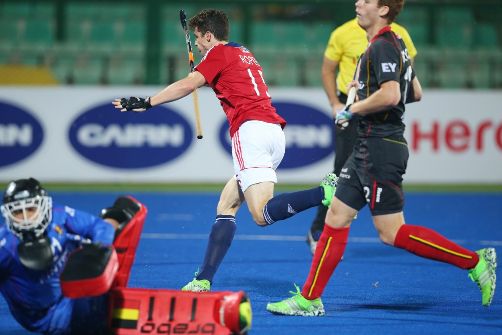 Britain to face hosts after winning Pool A at Hockey World League Final