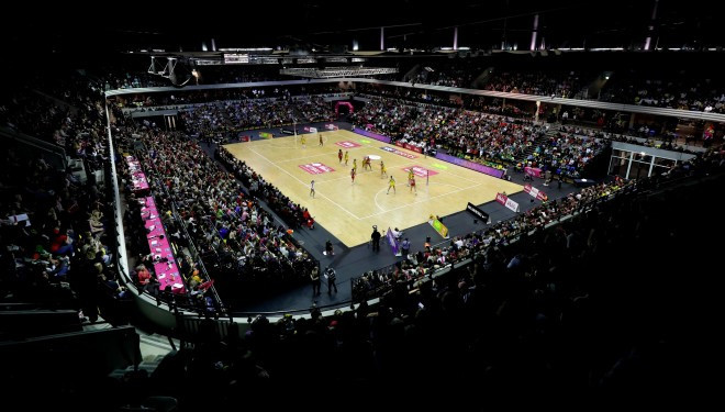 England Netball have announced record ticket sales or their Netball Nations Cup and Superleague events ©England Netball