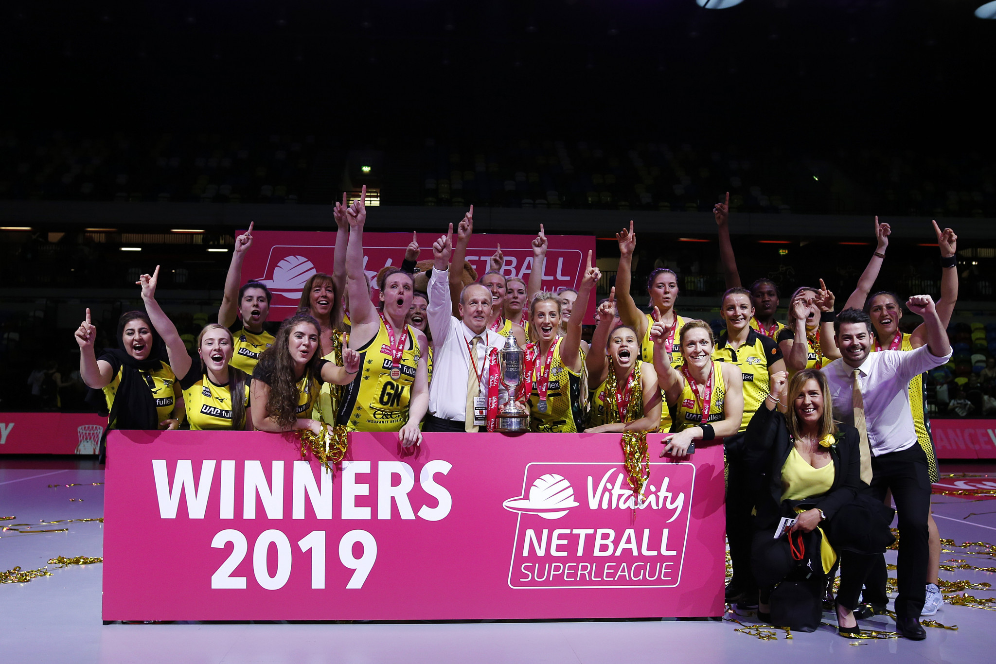 Ninety-five tickets for this year's Netball Superleague season-opener have been sold ©Getty Images