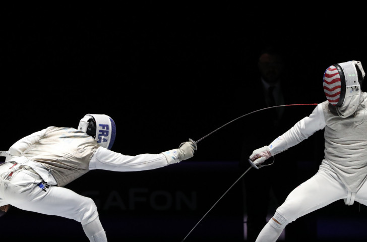 France's individual men's foil world champion Enzo Lefort played a key part in the team victory ©Getty Images