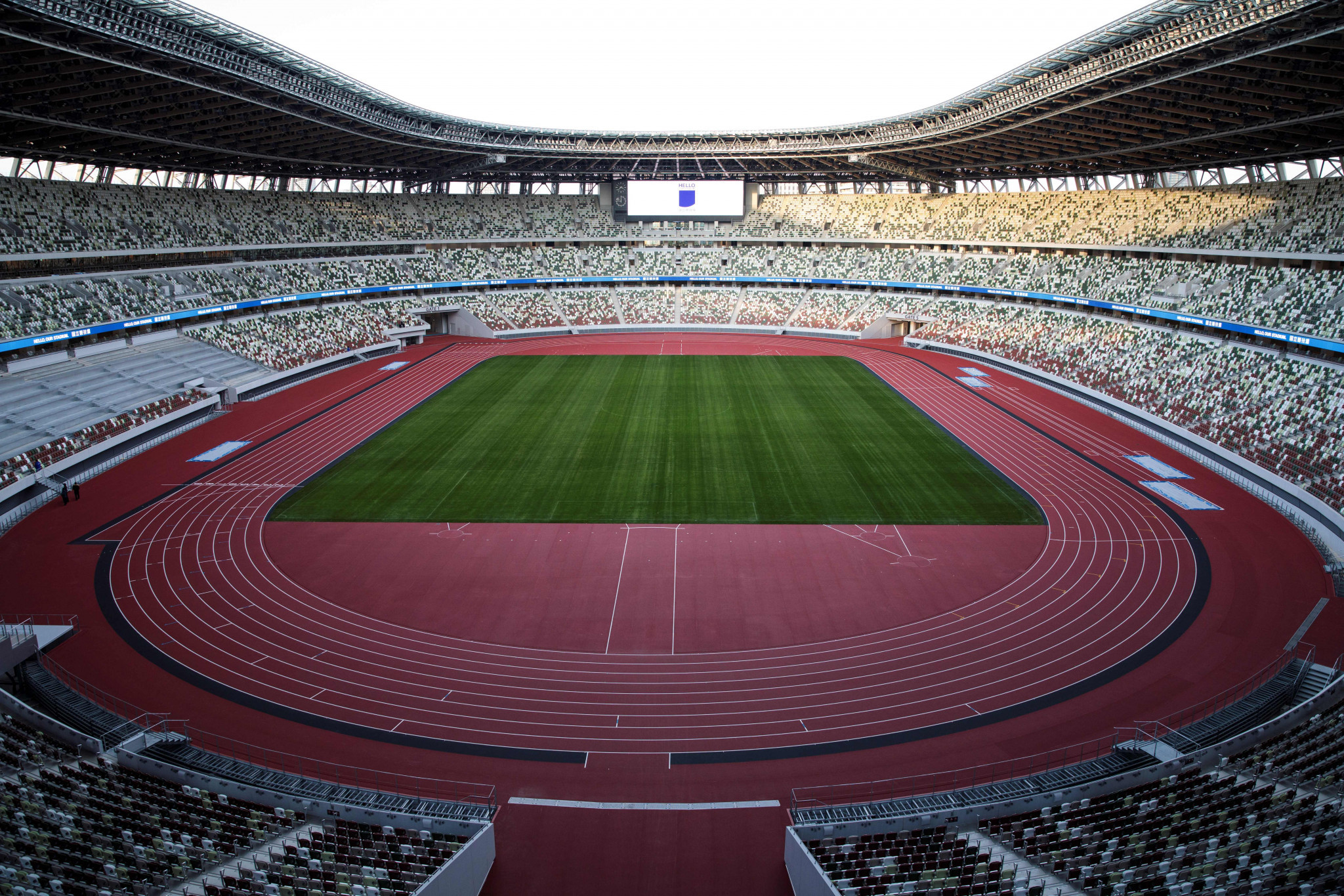 The stadium will be the centrepiece of next year's Olympic and Paralympic Games in Tokyo ©Getty Images