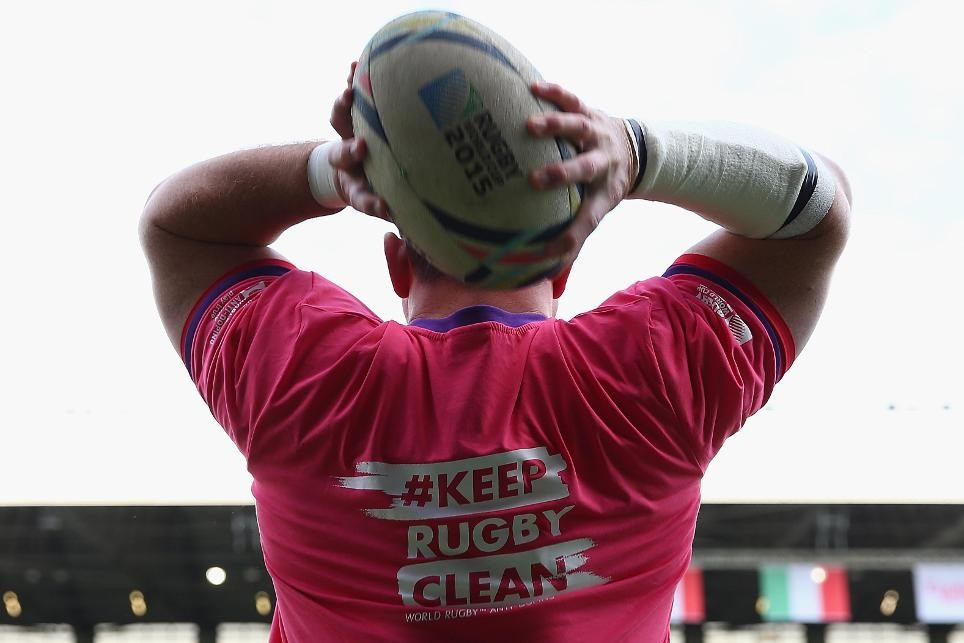 No positive doping tests recorded during Rugby World Cup
