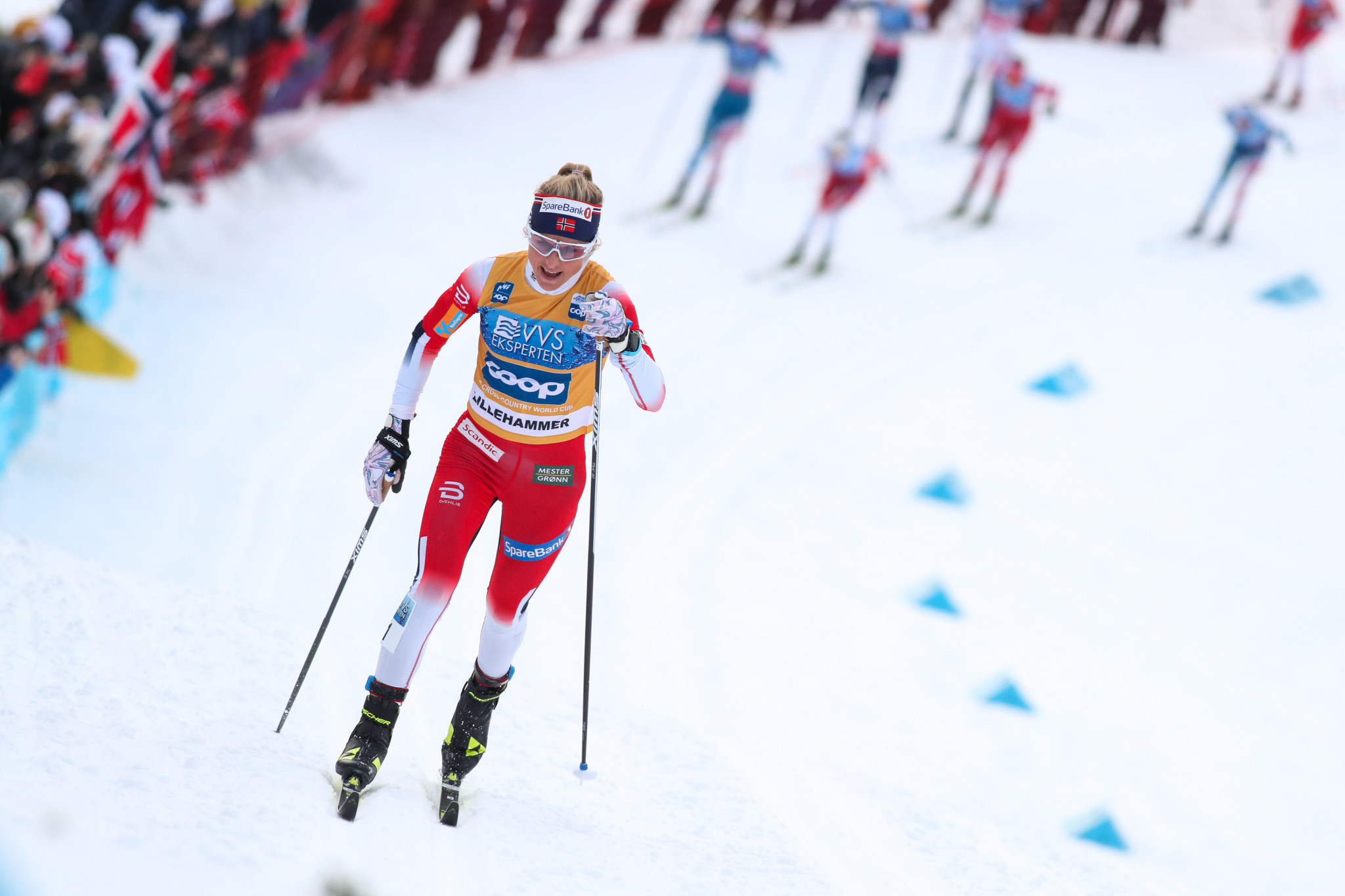 Johaug extends overall lead with freestyle win at FIS Cross-Country World Cup