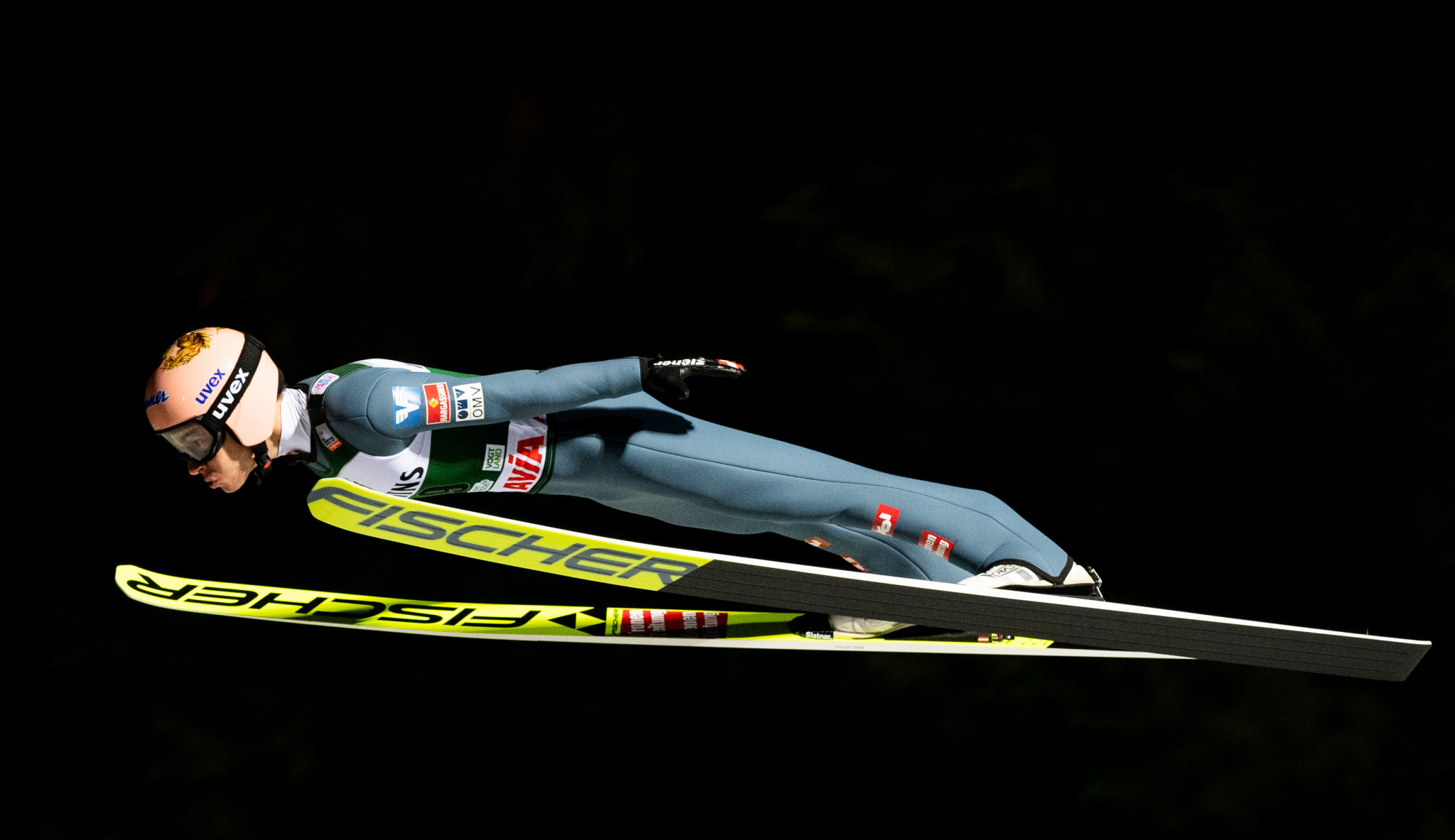 Stefan Kraft of Austria finished second in the Ski Jumping World Cup event in Klingenthal ©Getty Images