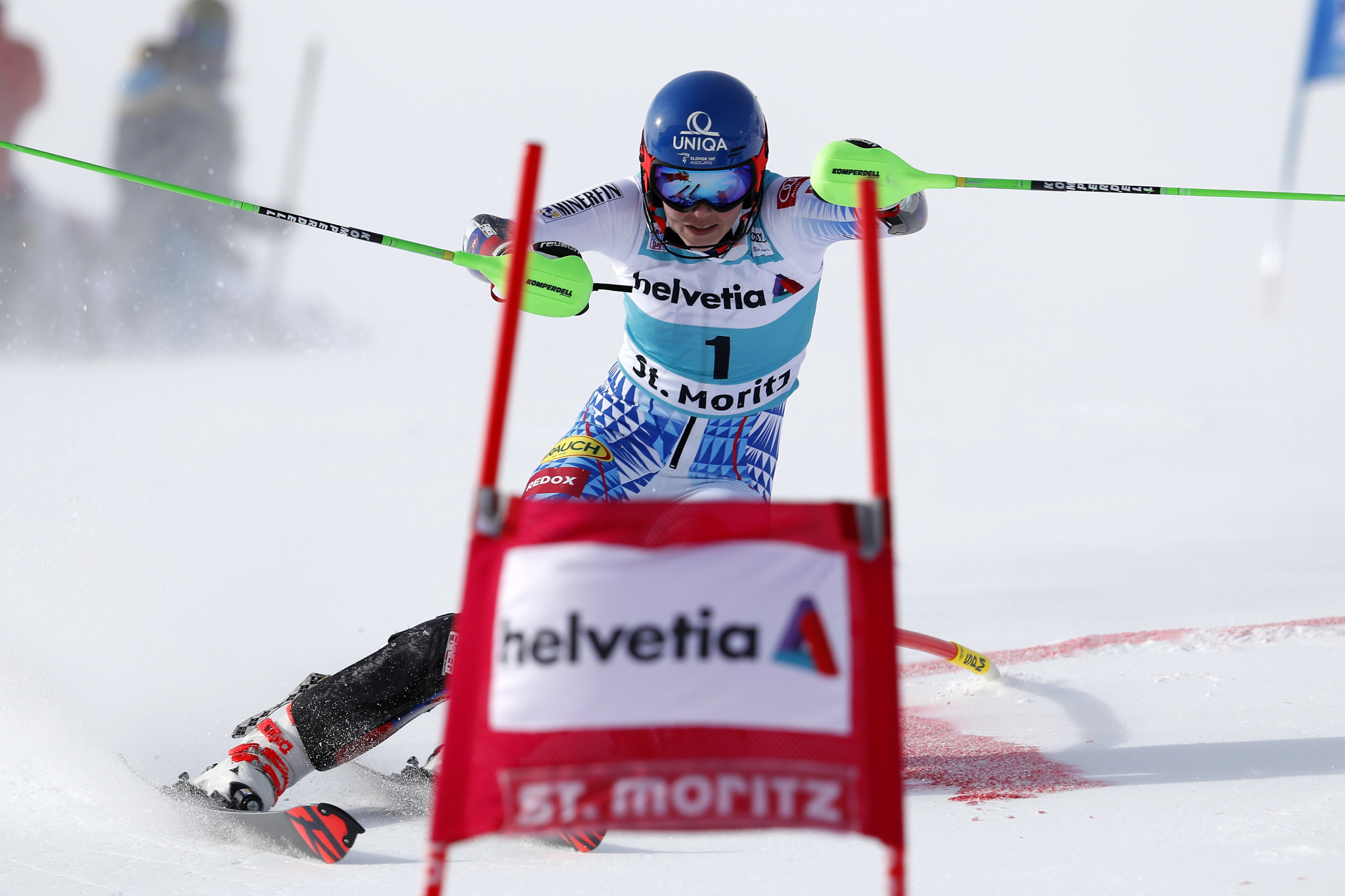 Vlhová wins parallel slalom in absence of Shiffrin at FIS Alpine Skiing World Cup