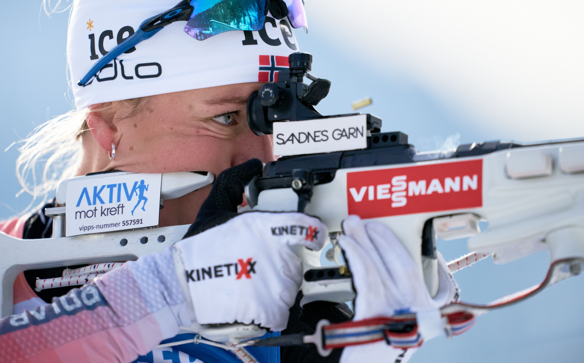 Perfect shooting propels Eckhoff to first pursuit victory at IBU World Cup