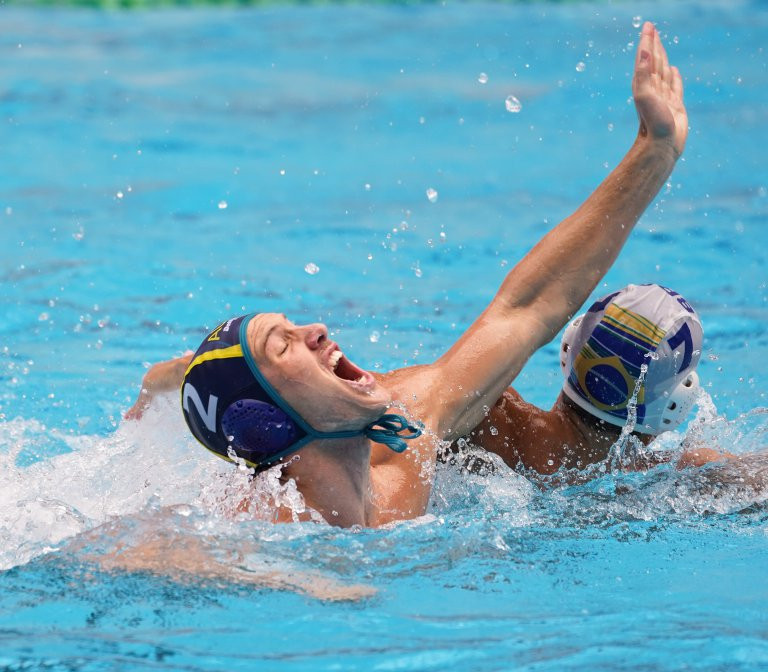 Australia defeat Brazil at FINA Men's World Junior Water Polo Championships