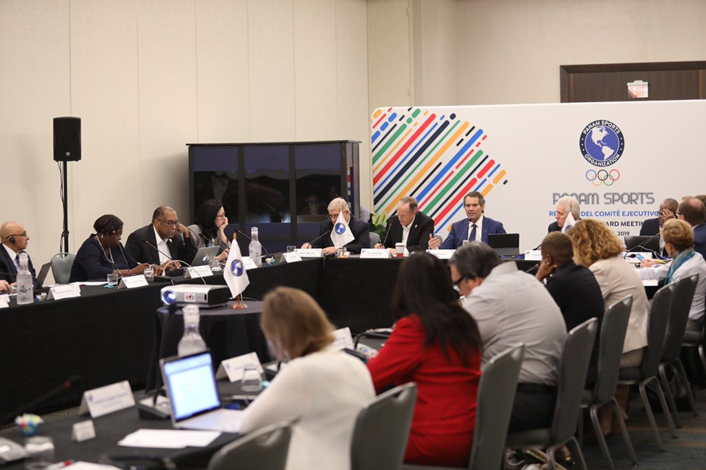 The Panam Sports Executive Committee met on the final day of meetings in Fort Lauderdale ©Panam Sports
