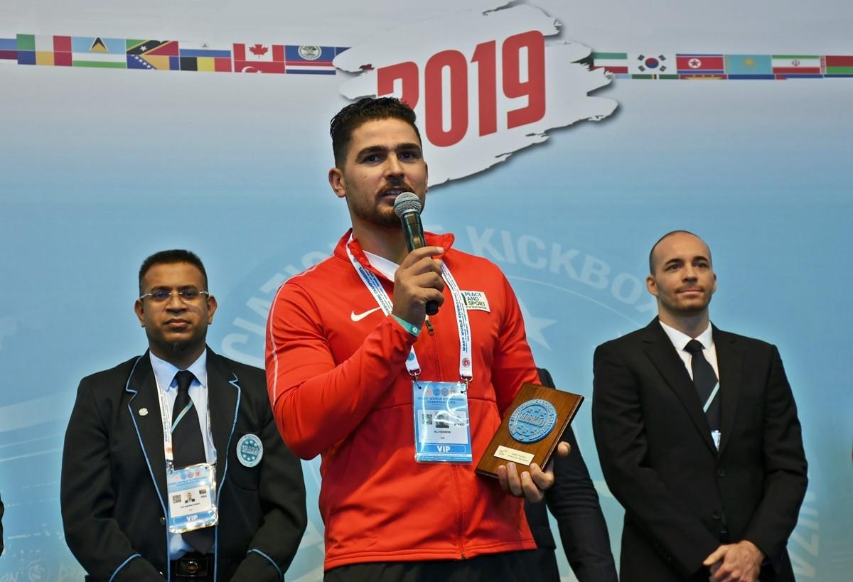 Syrian kickboxer recognised for work at refugee camp in Jordan