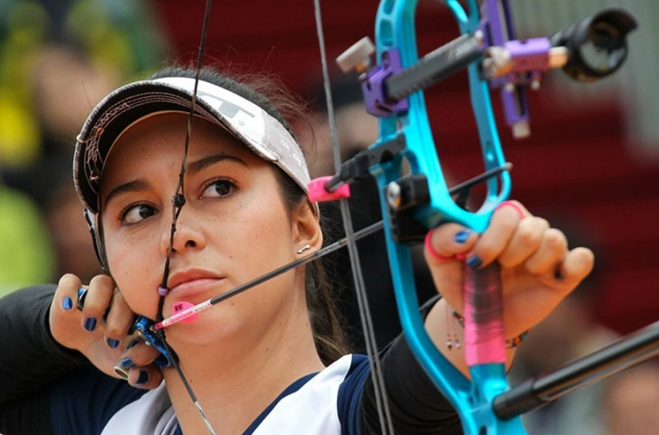 Lopez banishes Shanghai demons with women's compound gold at Archery World Cup