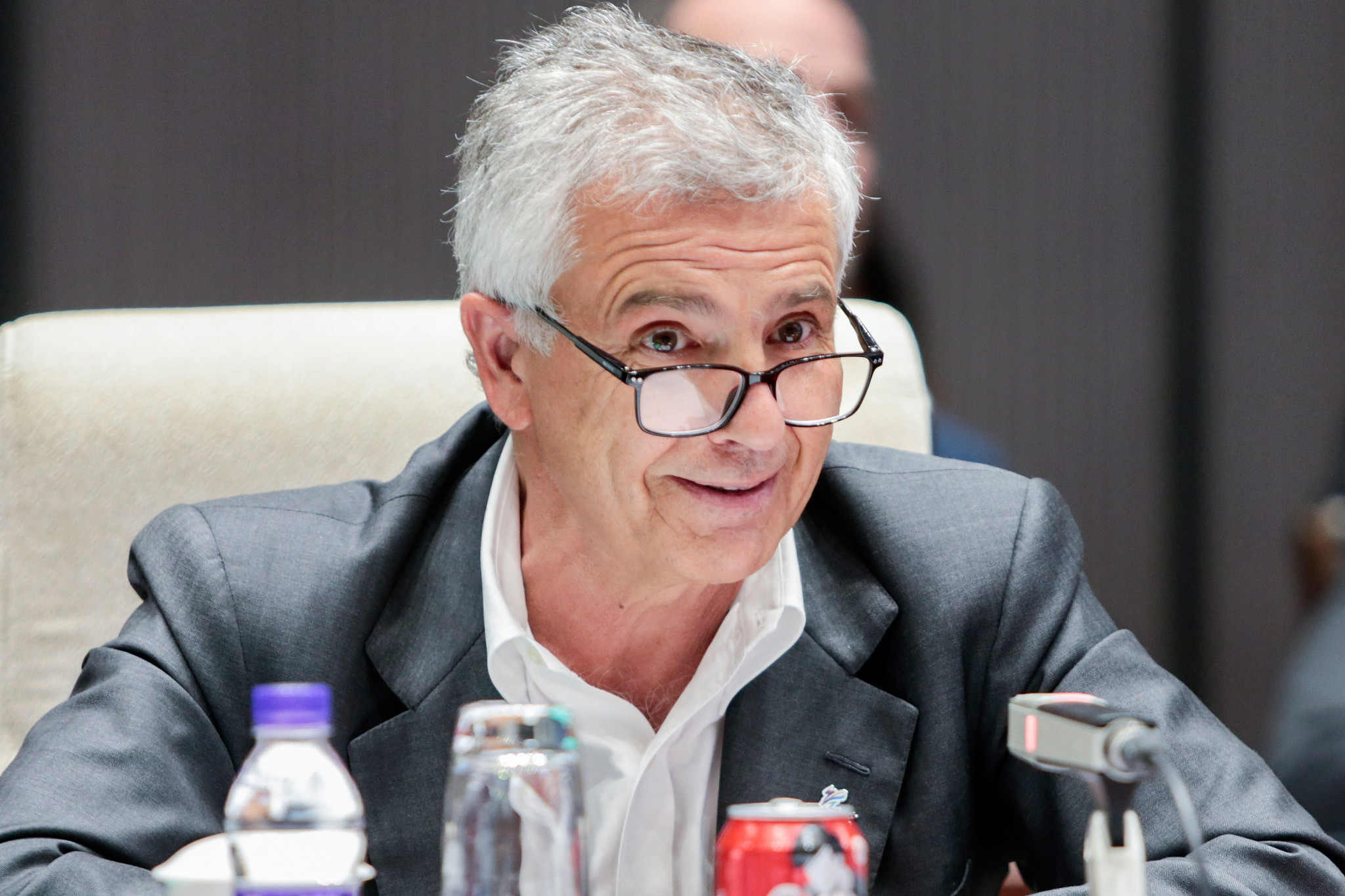 Samaranch praises enthusiasm for winter sport on Beijing 2022 visit