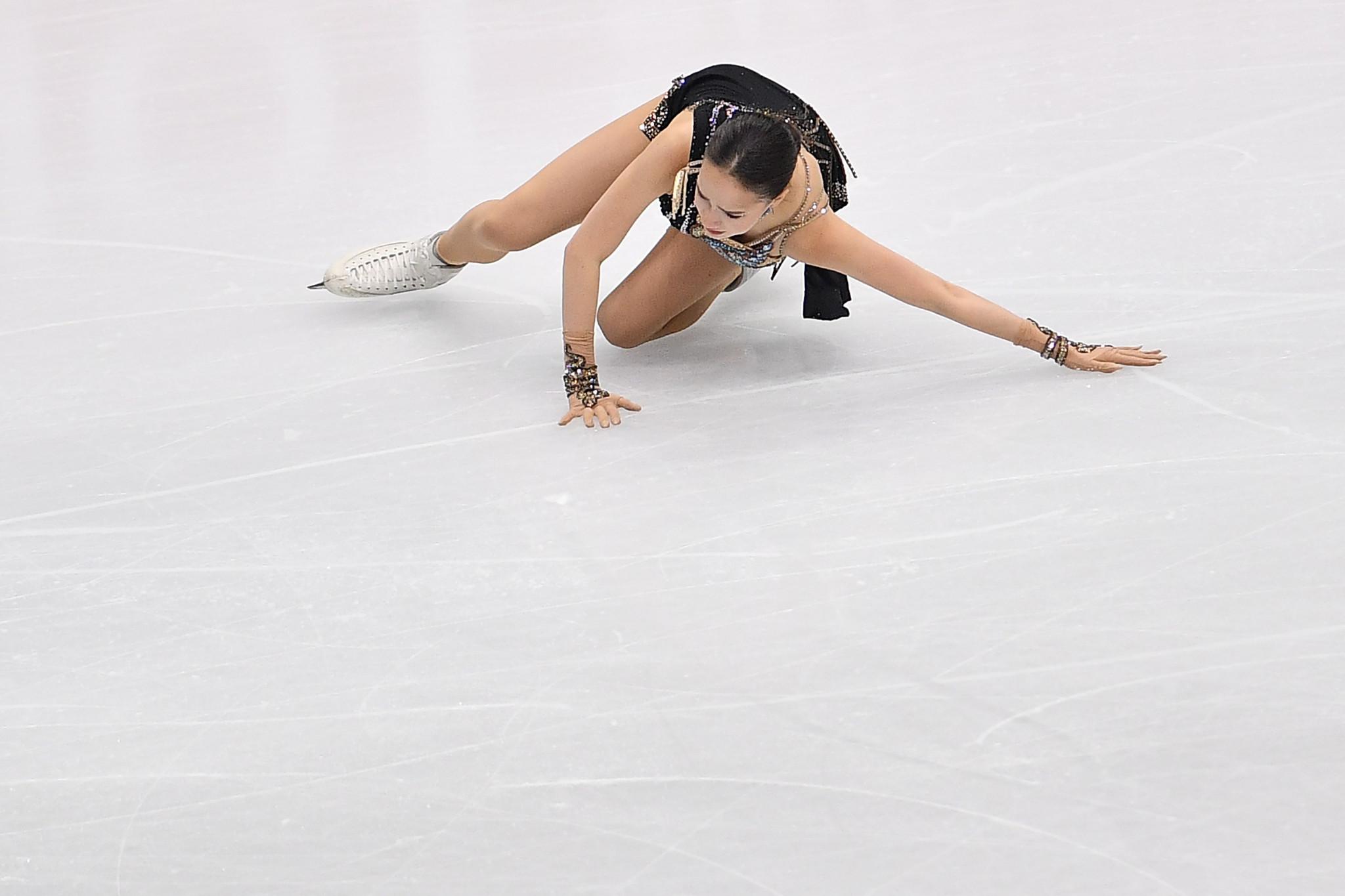 Alina Zagitova struggled during the ISU Grand Prix Final, finishing last ©Getty Images