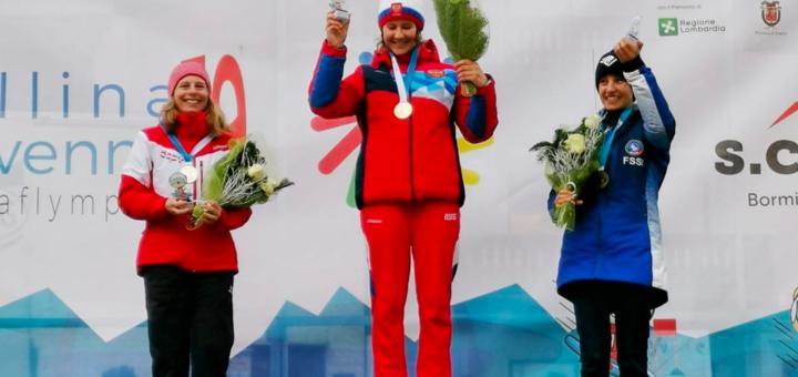 Noskova continues Russian success at Winter Deaflympics