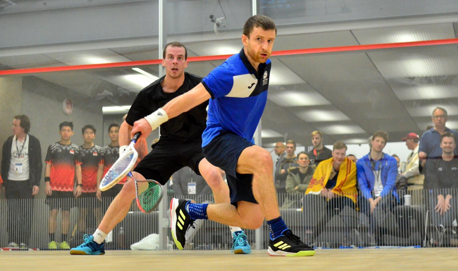 Scotland stun New Zealand at Men's World Team Squash Championship