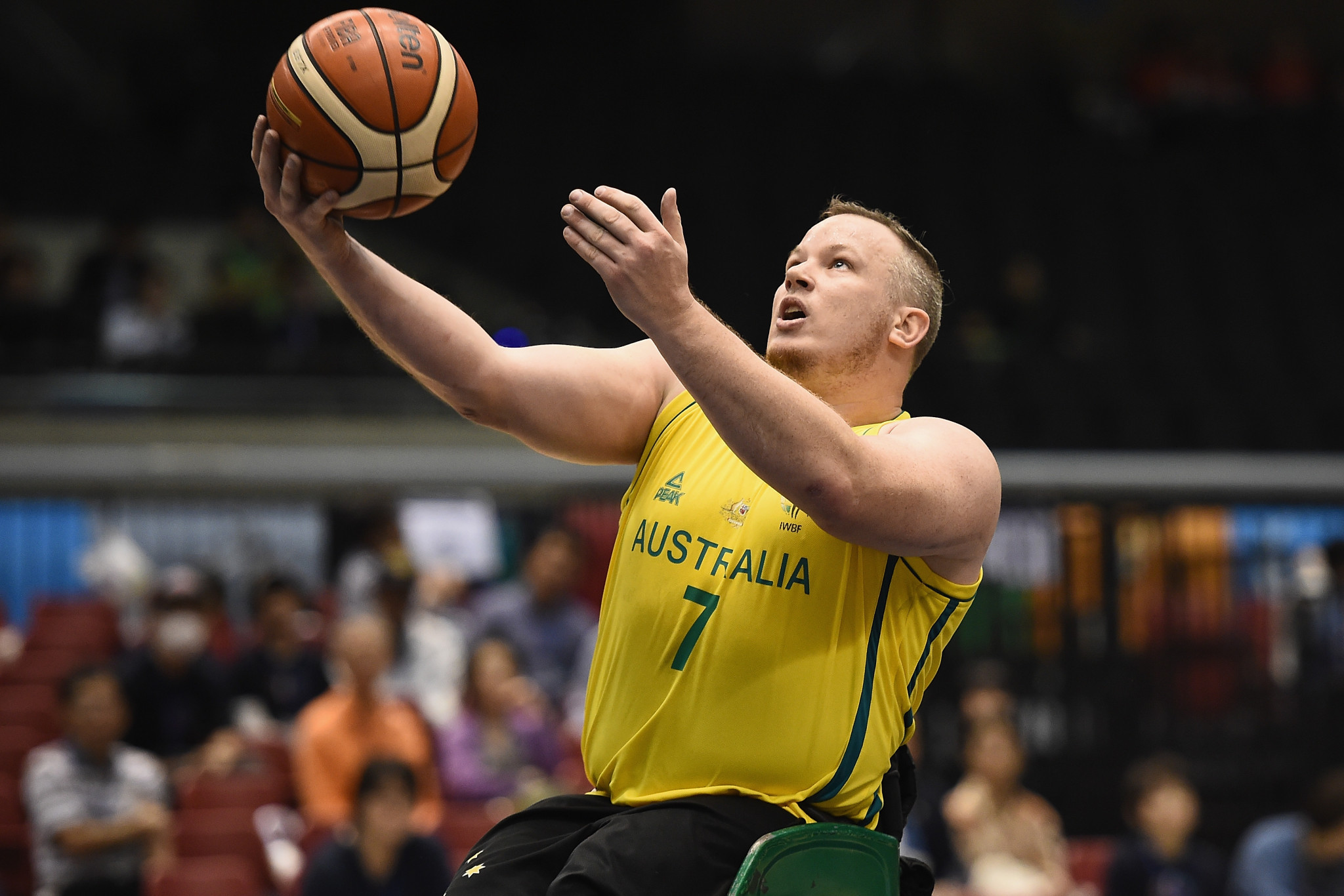 Australian wheelchair basketballer named IPC Athlete of the Month for November