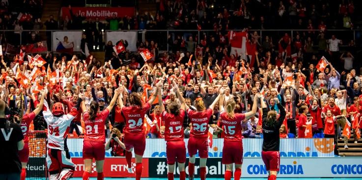 Women's World Floorball Championships attendance record broken