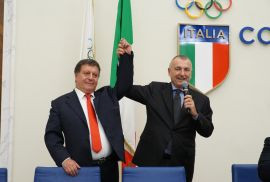 Dima elected Italian Student Sport Association President