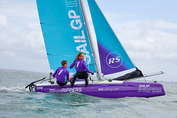 World Sailing Trust partners with SailGP Inspire