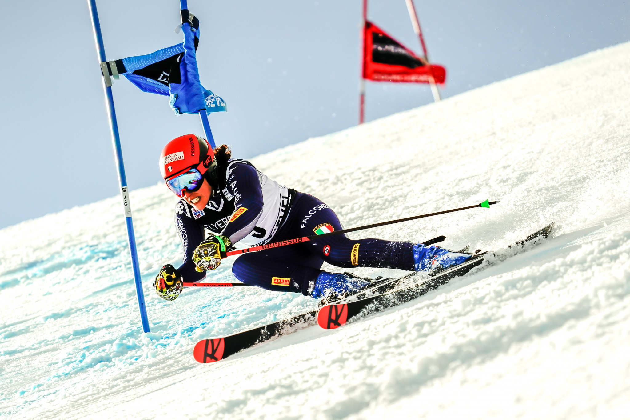 Brignone wins giant slalom at FIS Alpine Skiing World Cup in Courchevel