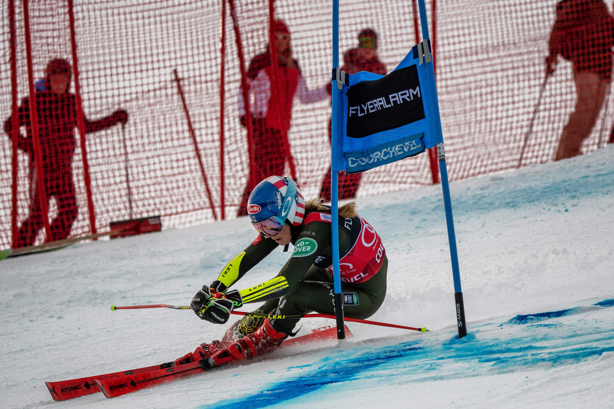 Overall leader and Olympic champion Mikaela Shiffrin finished 17th ©Getty Images