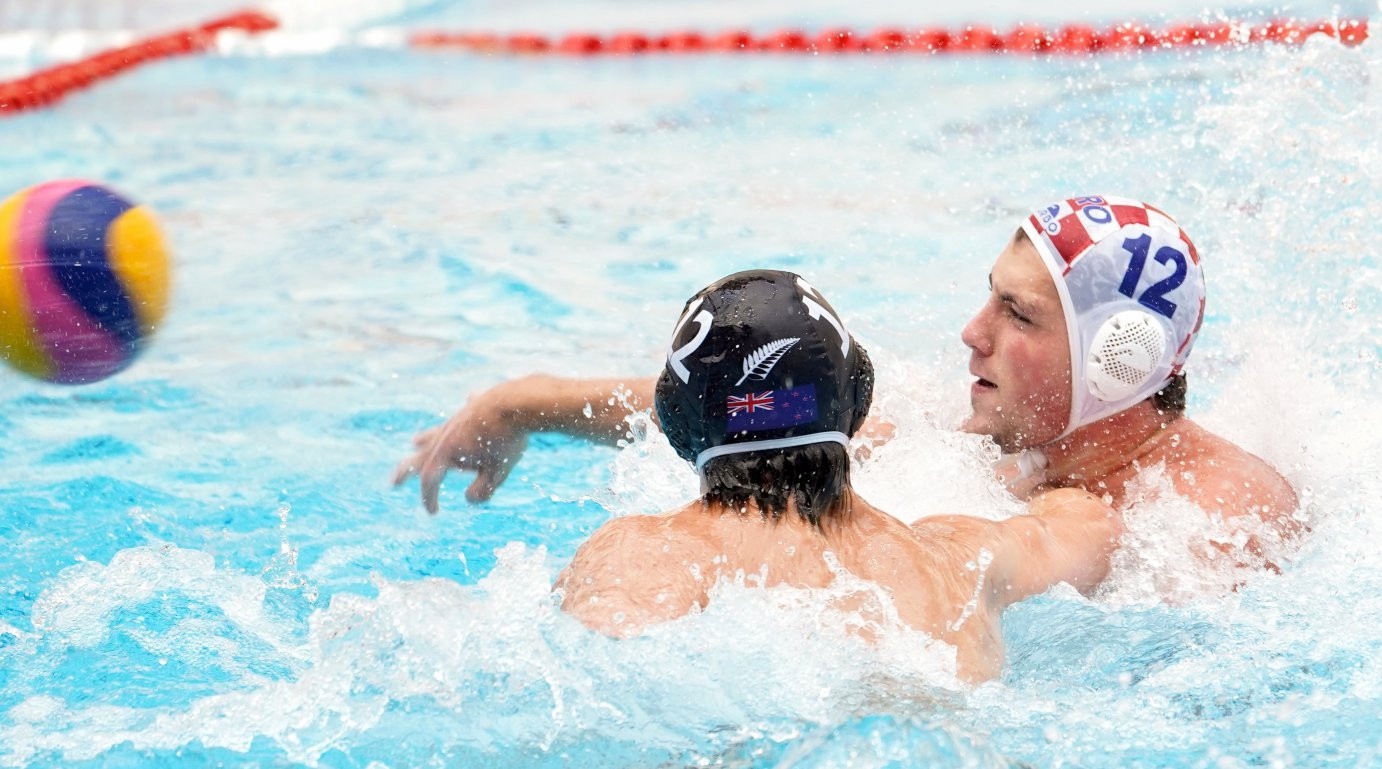 Quarter-final line-up confirmed at FINA World Men's Junior Water Polo Championships