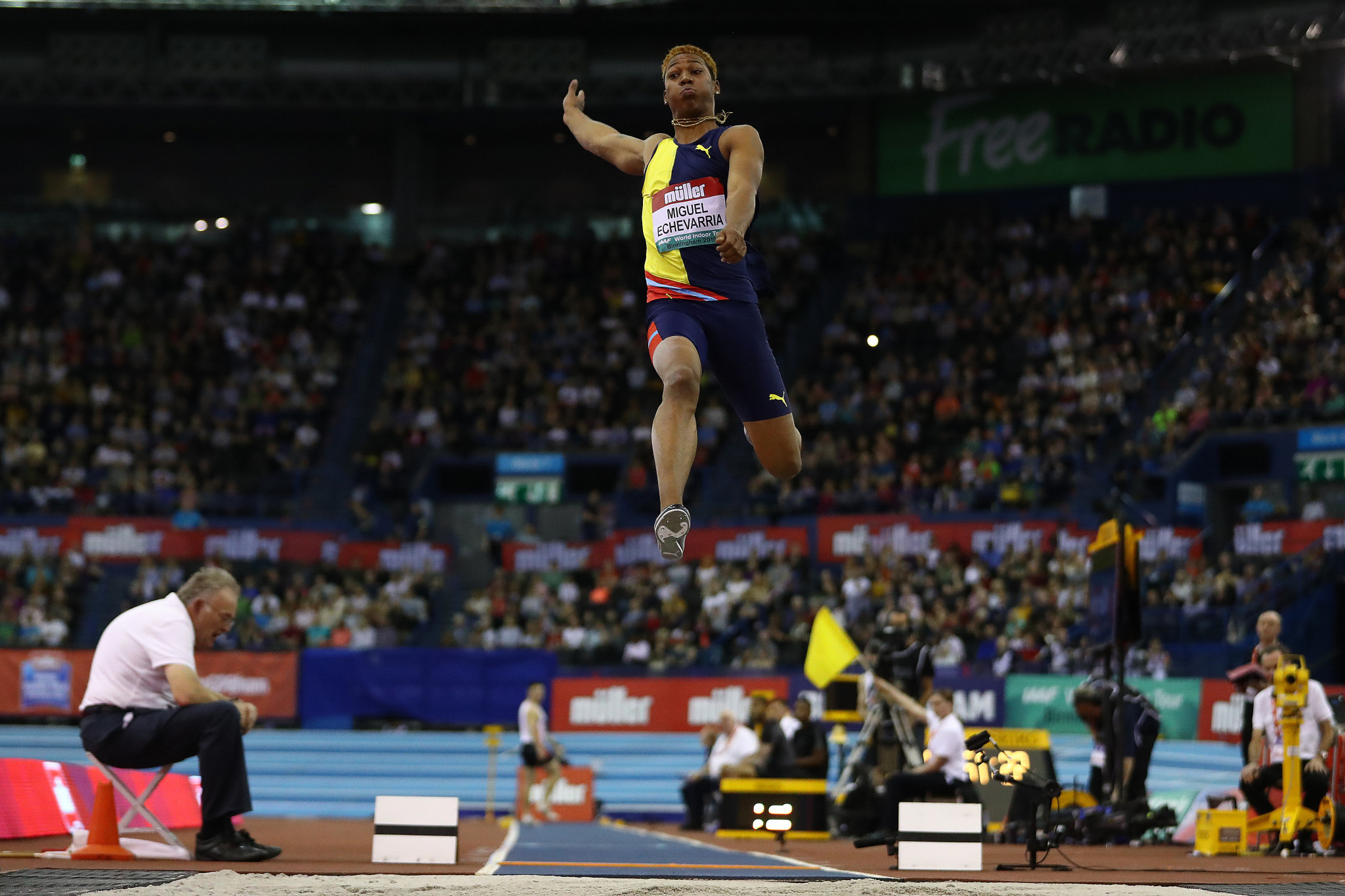 Seven events form the 2020 World Athletics Indoor Tour ©Getty Images