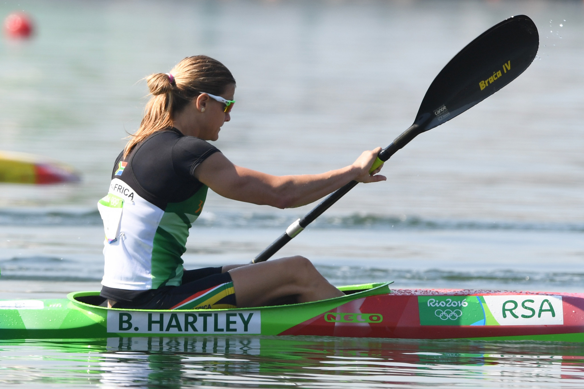 SASCOC praise Hartley after inclusion on list of IOC Athletes' Commission candidates