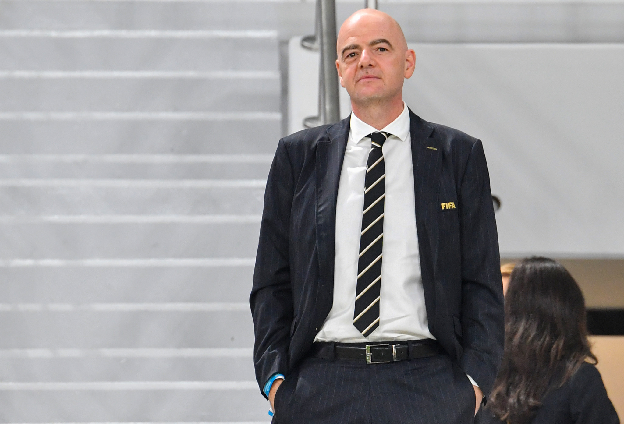 FIFA President Gianni Infantino is a key figure in the decision-making process, but there are others who also hold sway ©Getty Images