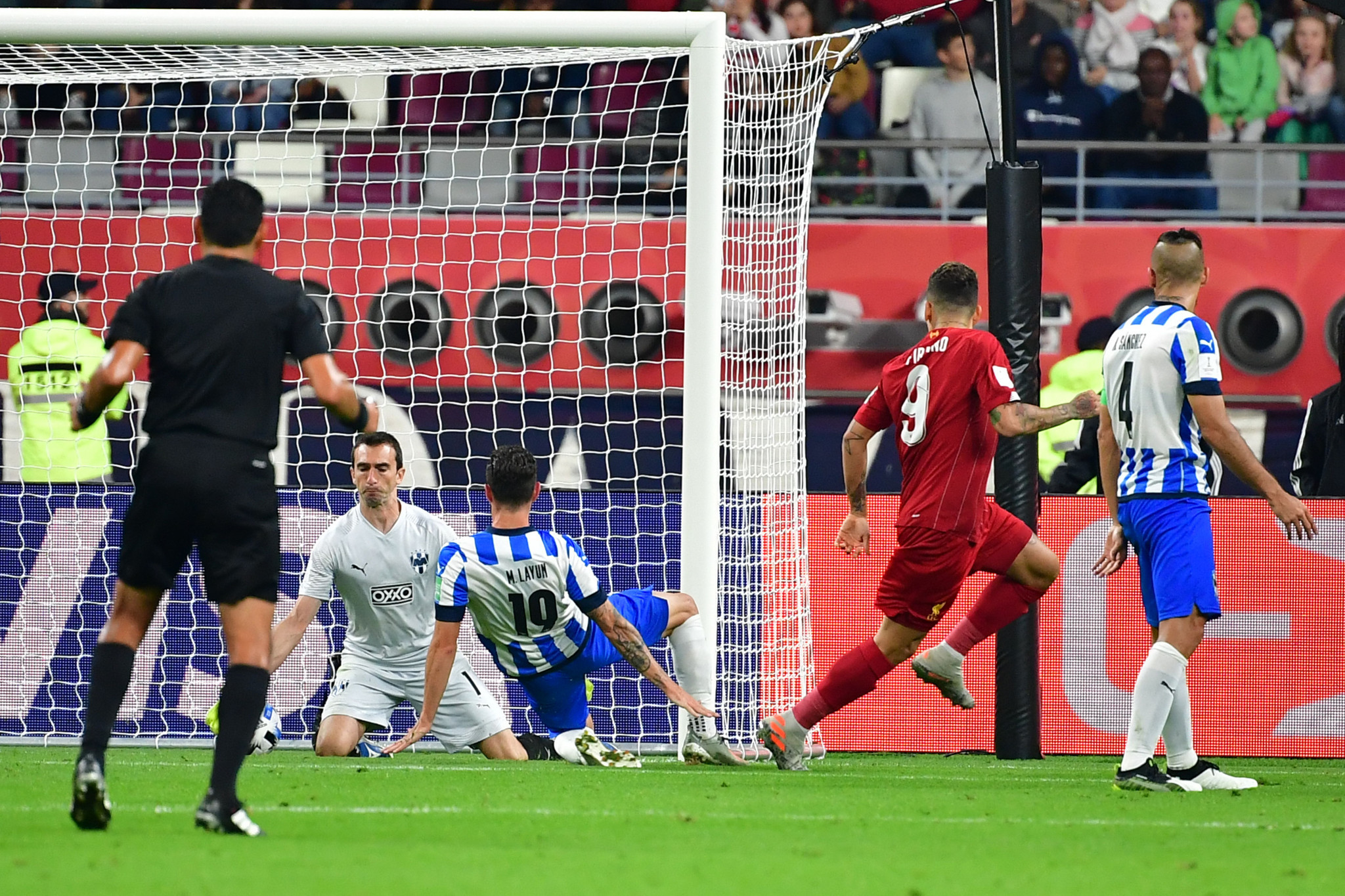 Firmino late show fires Liverpool into FIFA Club World Cup final