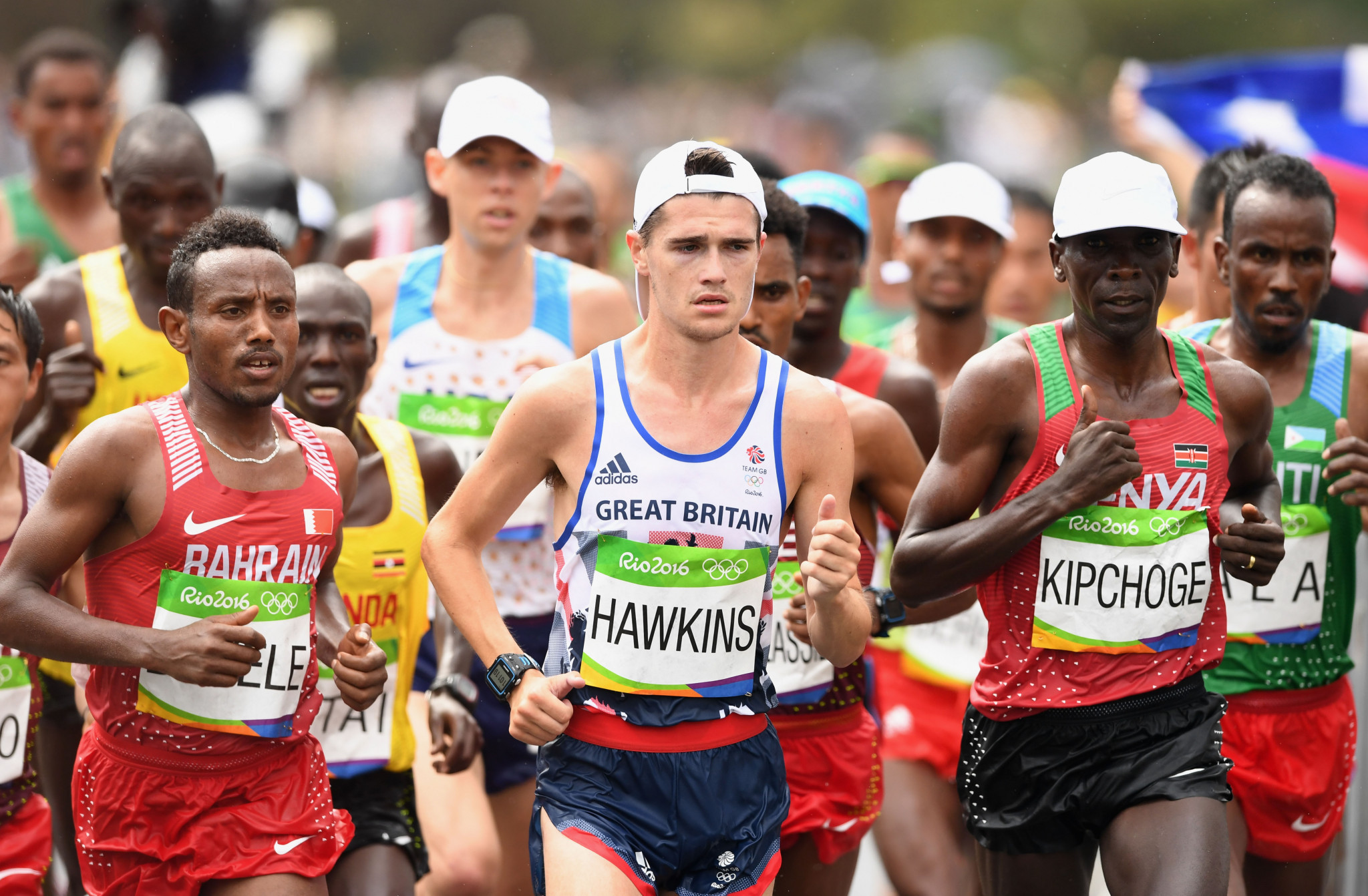 Callum Hawkins finished ninth in the Olympic marathon at Rio 2016 ©Getty Images