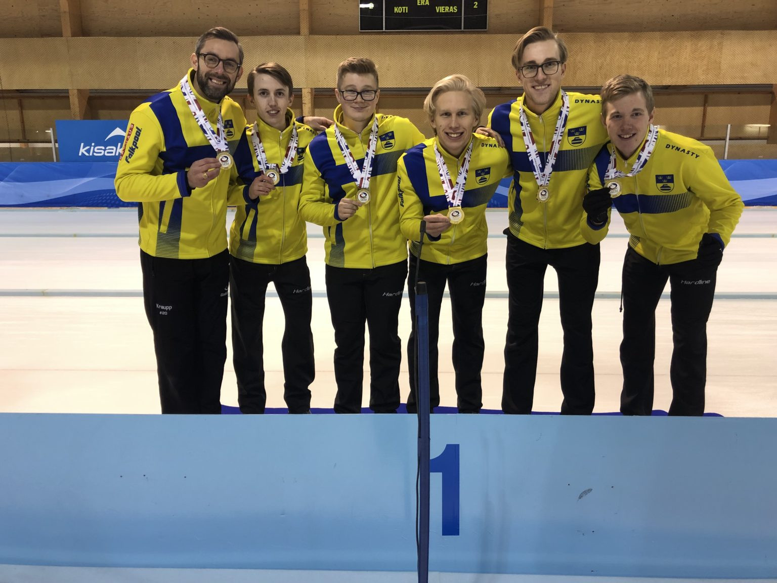 Sweden came out on top in the men's event ©Kisakallio/WCF