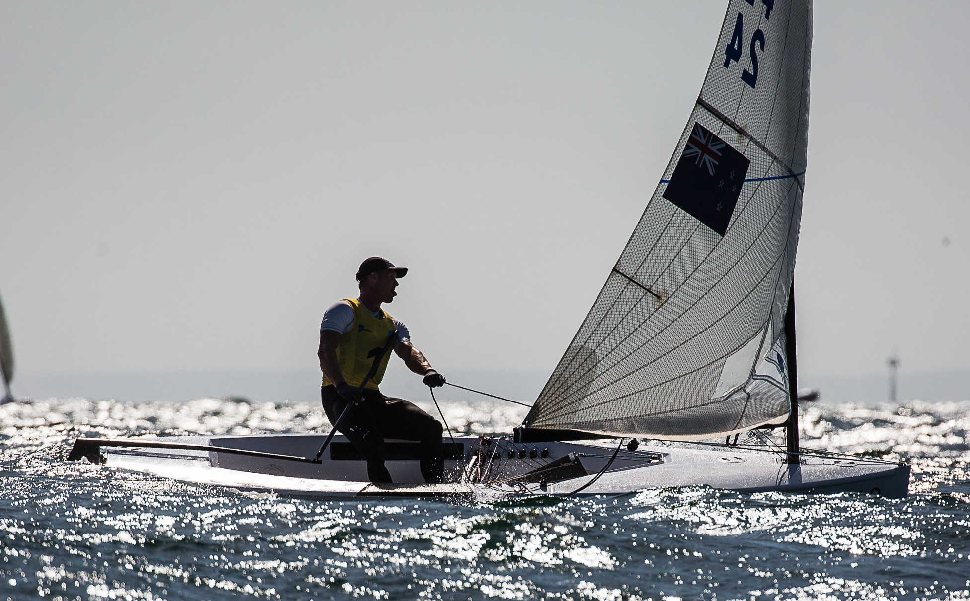 Junior still in charge as racing resumes at Finn Gold Cup