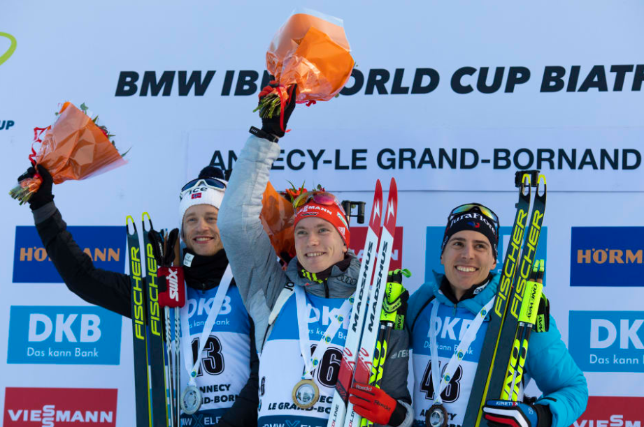 Germany's Doll pulls off surprise victory at IBU World Cup in France