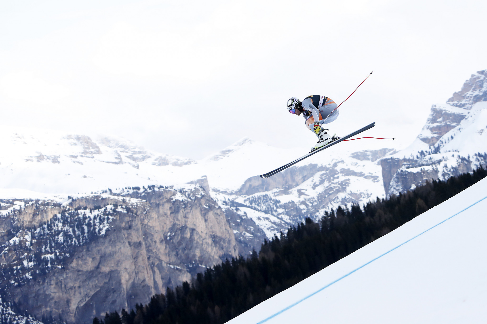 Jansrud fastest in downhill training ahead of FIS Alpine Skiing World Cup in Val Gardena