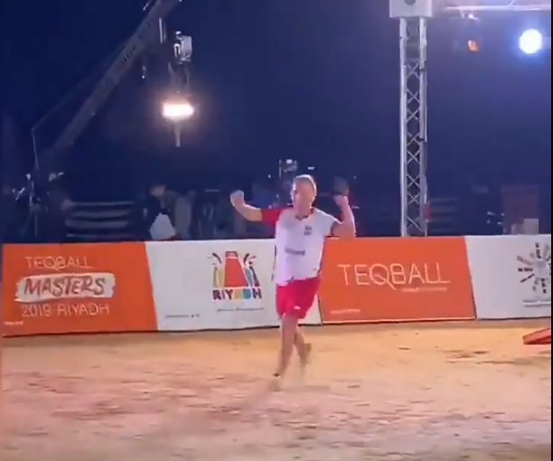 Duszak wins singles title at Teqball Masters in Saudi Arabia