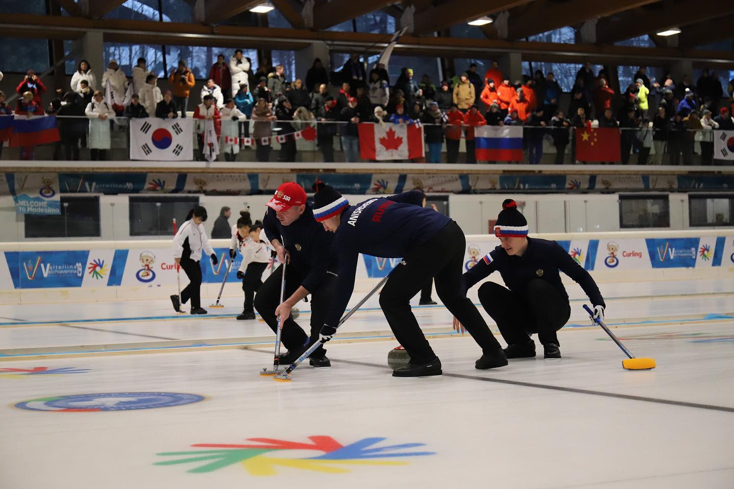 Russia and China through to men's and women's curling finals at Winter Deaflympics