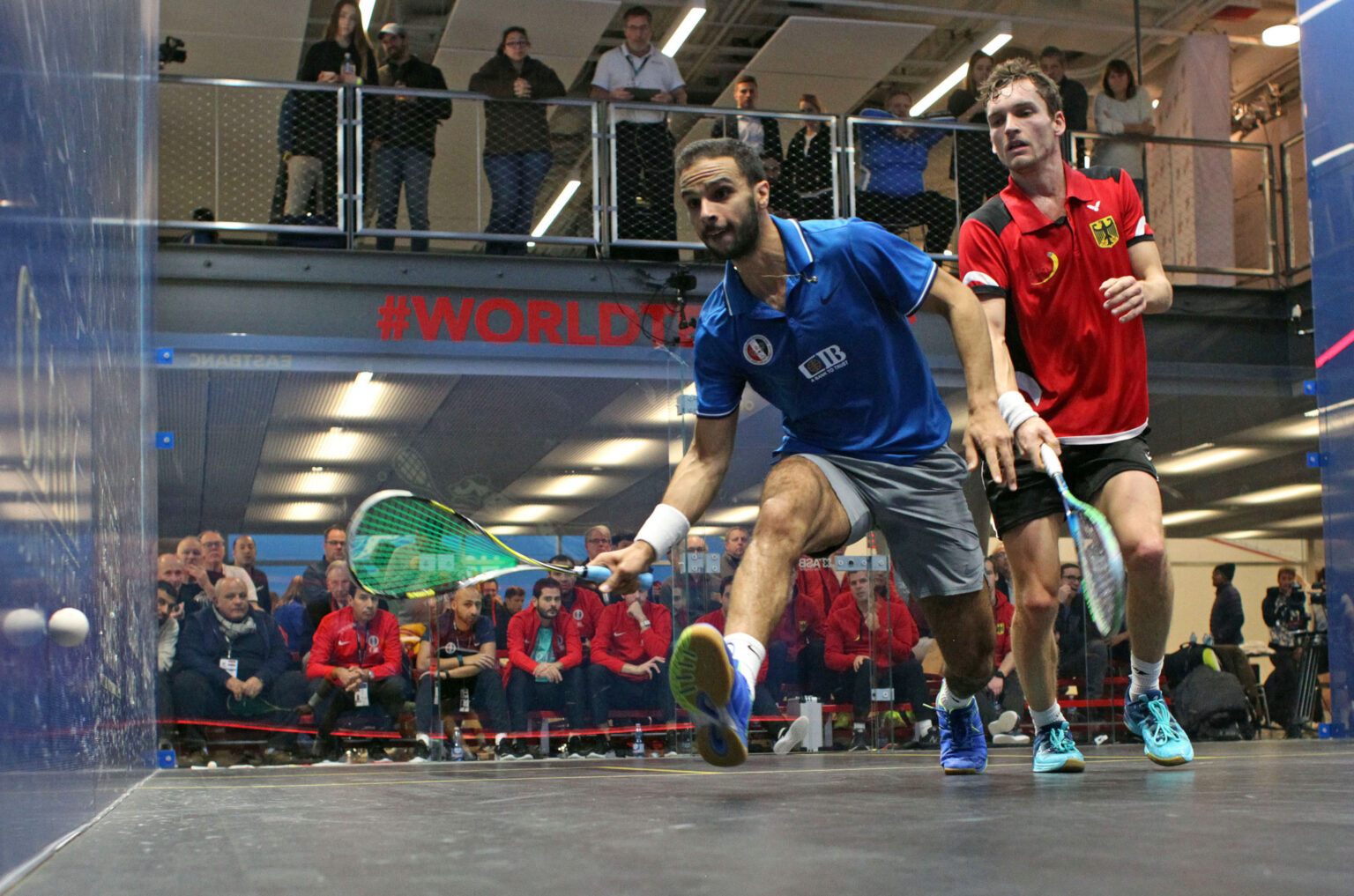 Mohamed Abouelghar clinched Egypt's win over Germany ©WSF