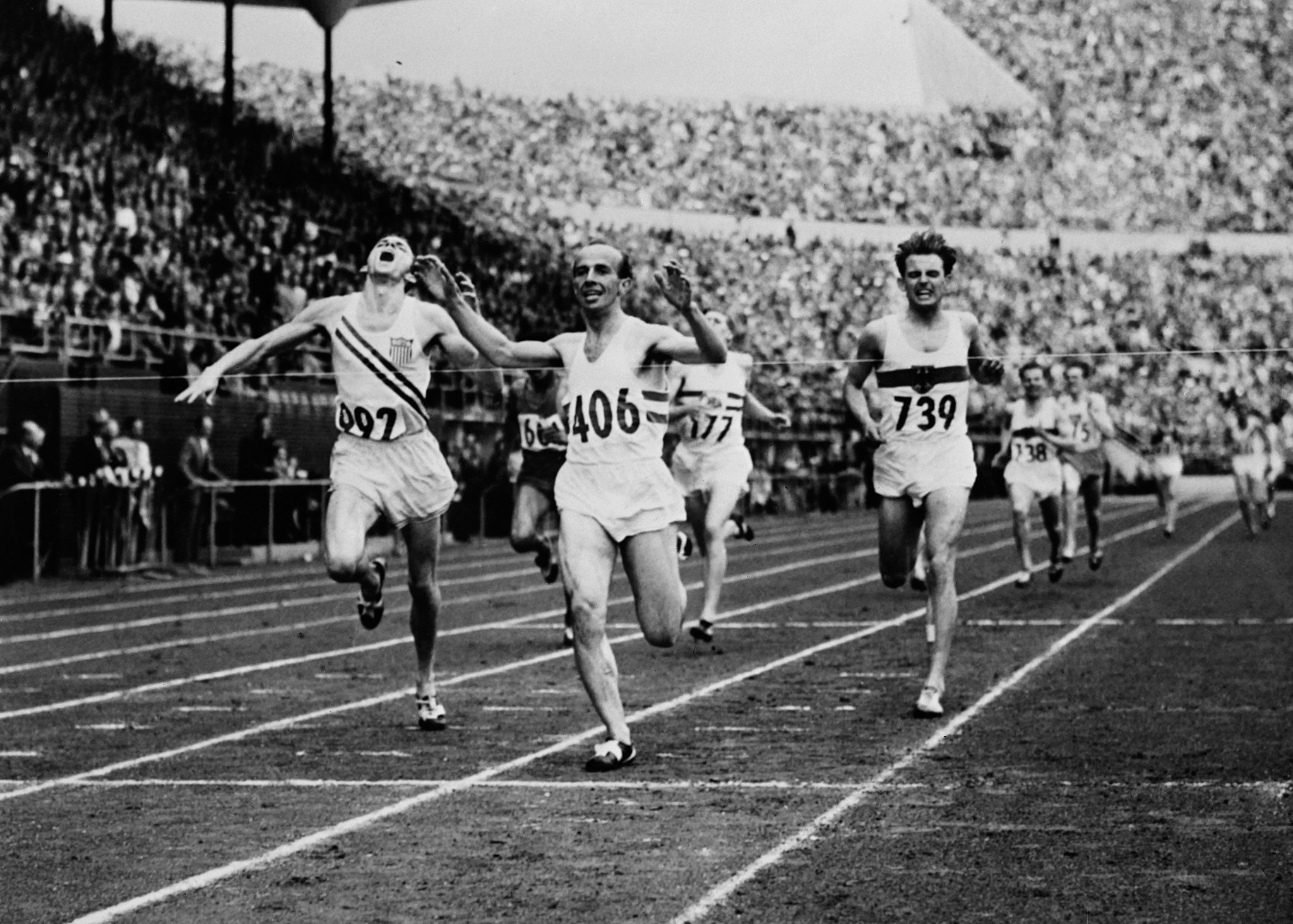 While the sporting performances were outstanding at the 1952 Helsinki Olympics,  Barbara Rotraut-Pleyer also made her debut ©Getty Images