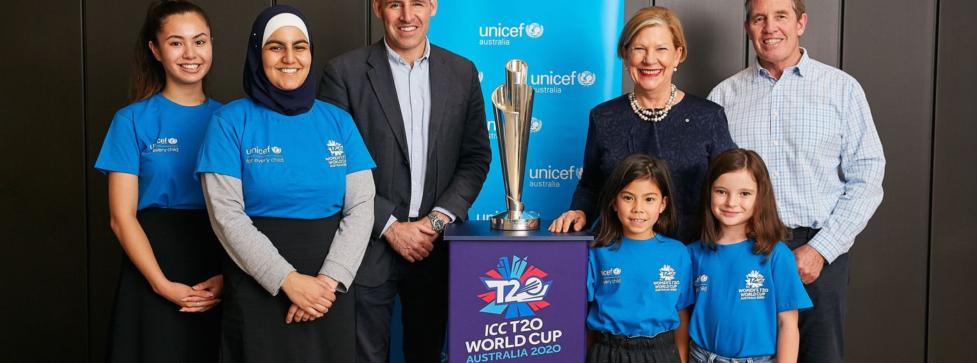 ICC extend partnership with Unicef until Women's T20 World Cup in 2020