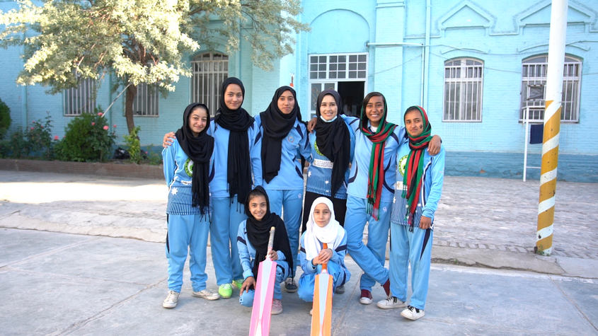 Money already raised by Unicef went to a girls' cricket project in Afghanistan ©Unicef