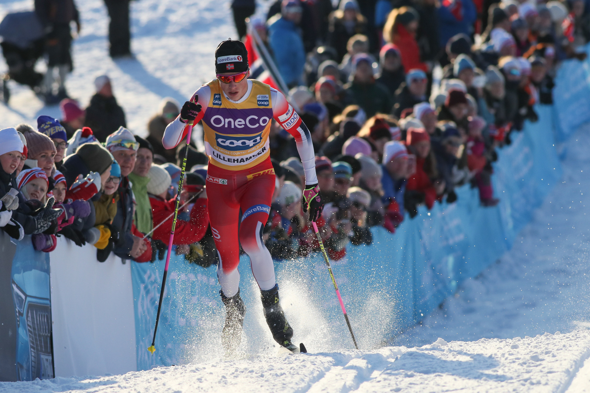 Klæbo looking to extend lead in FIS Cross-Country World Cup standings in Planica