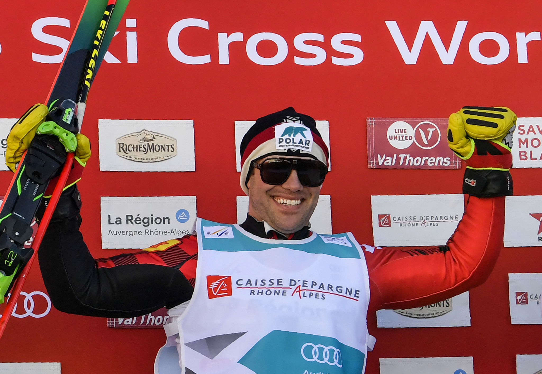 Drury tops men's qualification standings at FIS Ski Cross World Cup in Innichen
