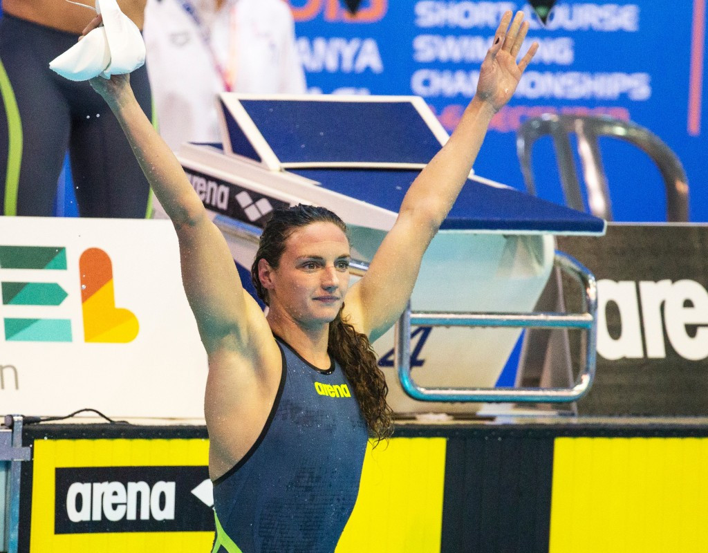 Hosszú breaks world record as Hungary enjoy great start to European Short Course Swimming Championships